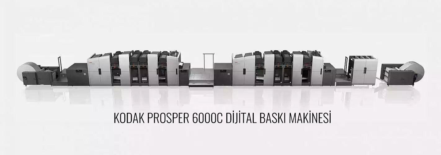 Kodak Prosper 6000c Dijital Baskı Makinesi